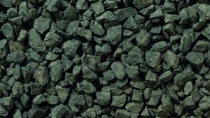 14mm Black dry picture -black basalt like chipping , landscaping favorite