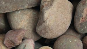 tweed cobbles 40 - 90mm drydecorative photo