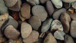 Tweed Pebbles 20-40mm dry decorative aggregate