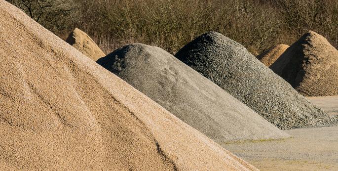 Sand Pile. Loose or in bulk bags